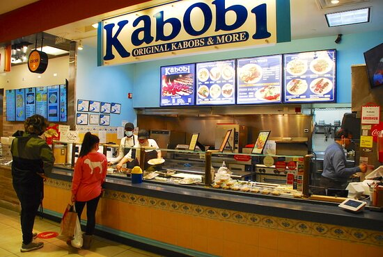 Located in Raleigh, Kabobi serves Persian and Mediterranean style kabobs.