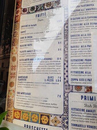 Amalfi in Pasta