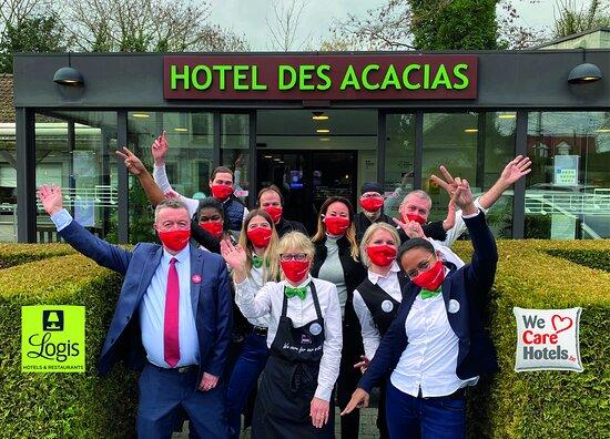 Hôtel-Restaurant des Acacias Lille Tourcoing