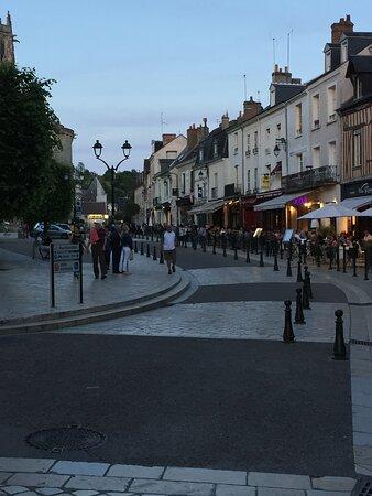 Amboise, Francia: Evening time
