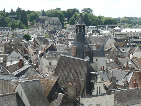 Roof tops of Amboise