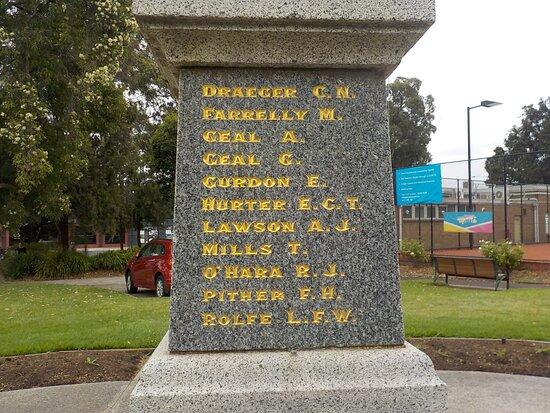 Blackburn War Memorial