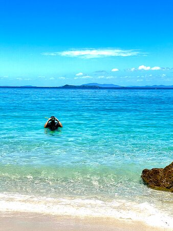 Snorkelling a must