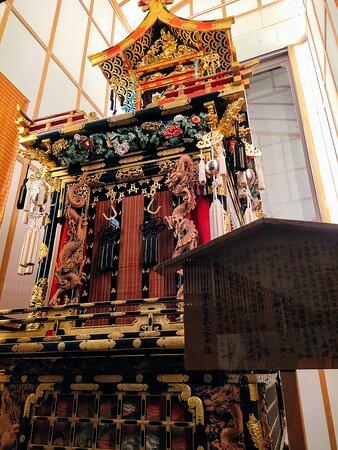 此処へ来ると飛騨古川祭りに来たくなります