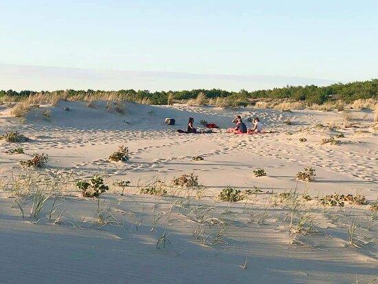 Arcachon Bay, France: Meditation guidée sonore & Tao. Plage sauvage au coucher du soleil.  Les milles et une fréquences Facebook  @lesmillesetunefrequences