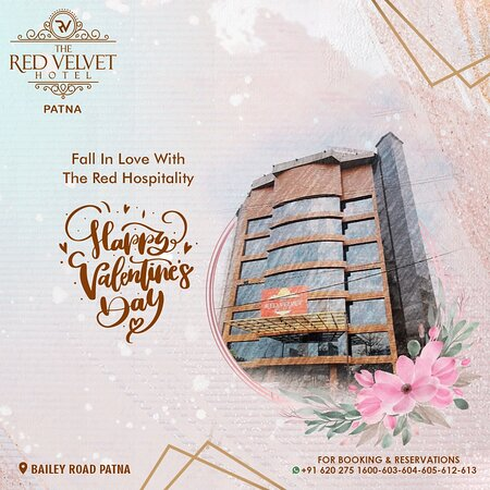 Fall in love with the red hospitality, The Red Velvet Hotel is all set to be your host this valentine's day! #HappyValentinesDay21