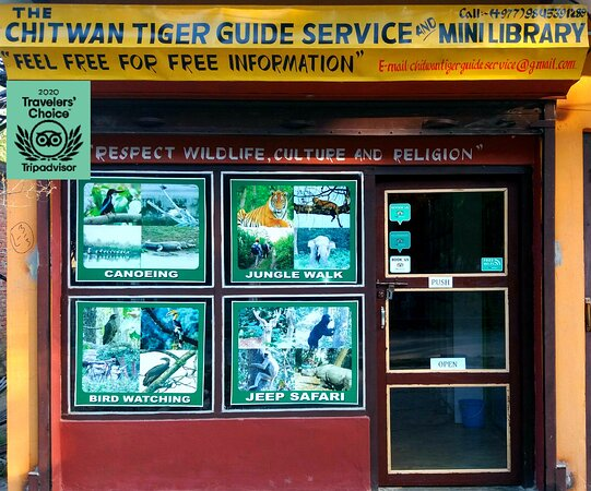 The Chitwan Tiger Guide Service And Mini Library
