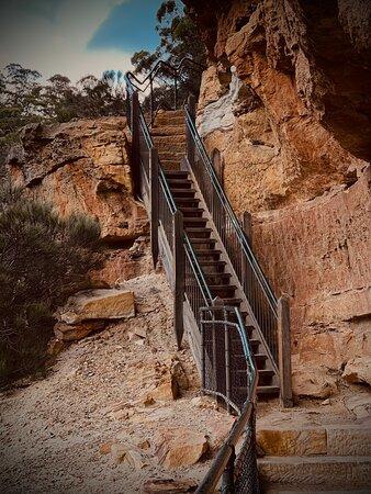 Wentworth Falls, Australia: Wonderful scenery and great walk.