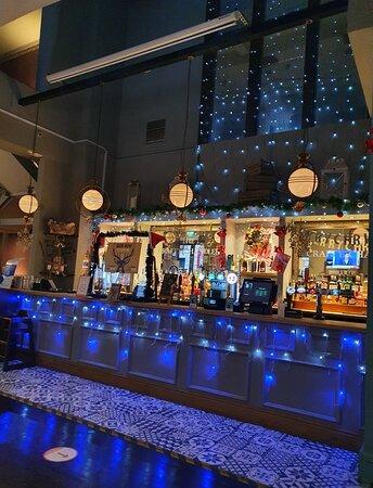 The Crafty Chandler Pub on Concert Square along Fleet Street.