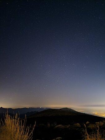 Samar Trail Hiking Adventure in Mount Jais: Night sky (Astrophotograpy)