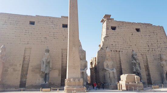 Luxor Day tour From Hurghada: Eingang