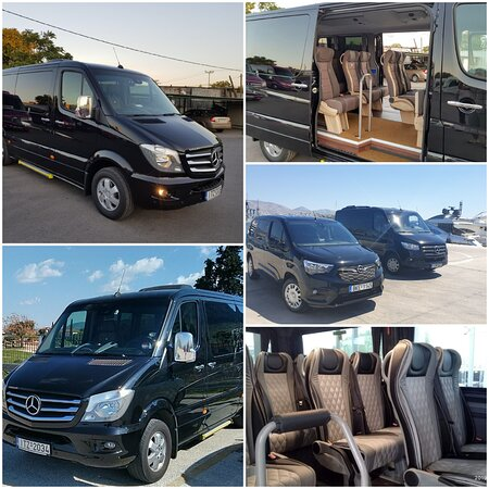 Athens, Hy Lạp: New Mercedes Sprider 11 seater.