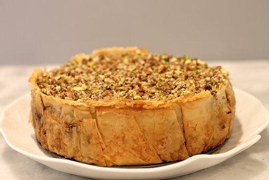 Whole Cheesecake Baklava