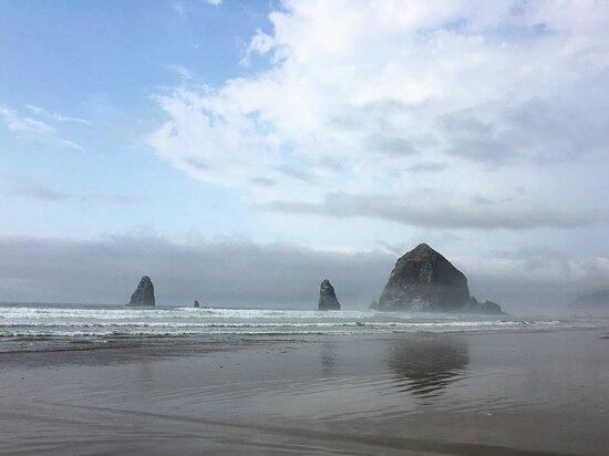 Cannon Beach, OR: Haystack Rock , Oregon