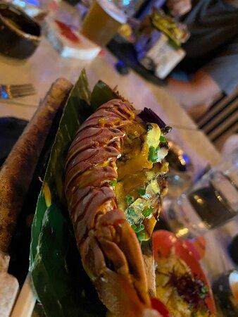 El de cangrejo es divino . Así como el menú de degustación.