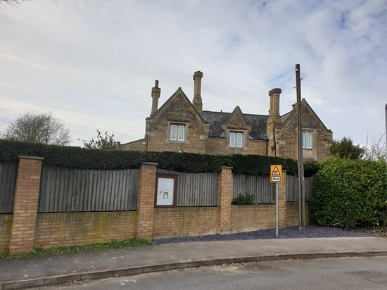The Old Oundle Railway Station.