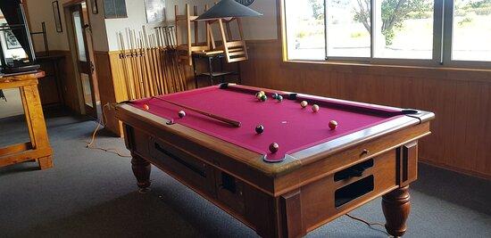 Pool Table at Matata hotel