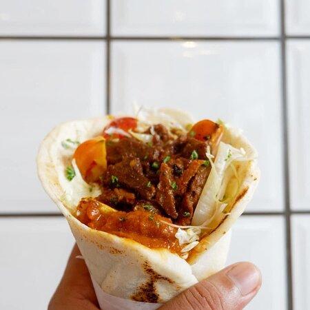Meze Wrap's Beef Wrap