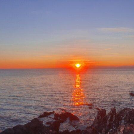 Genoa, Ý: Tramonto a Nervi