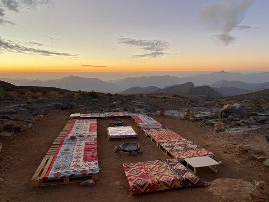 Samar Trail Hiking Adventure in Mount Jais: Sunset at camp 1770