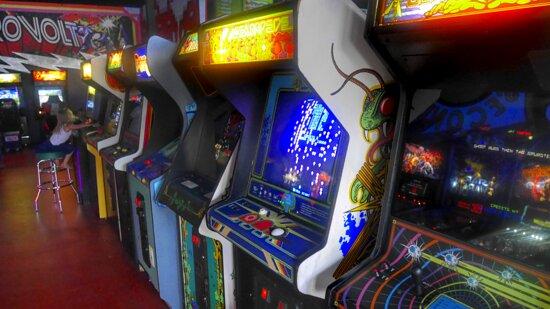 Calimesa, CA: Vintage Video Games Pradise