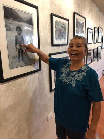 Mabil Nativa de Yelapa visitando el Museo