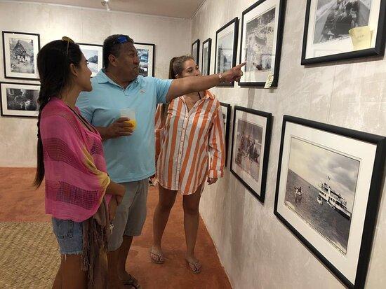 Familia Rodriguez Anderson de visita en el Museo de Yelapa 2019
