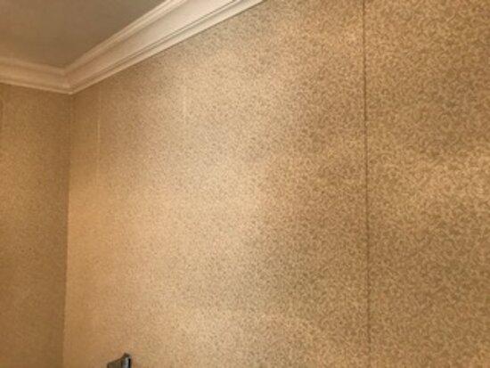 Peeling wall paper