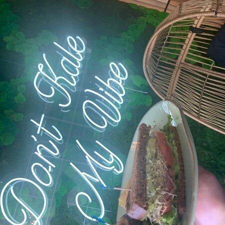 Veggie sandwich was delicious