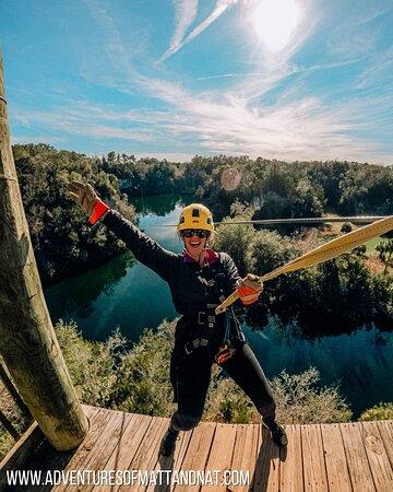 Big Cliff Canyon Zip Line Tour with 9 Zip Line Flights, 2 Sky Bridges, 1 Rappel: Views from the tallest zip!