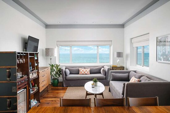 The One Bedroom Suite features hardwood floors, a living room, separate bedroom, luxurious bathroom and VIP elevator access.