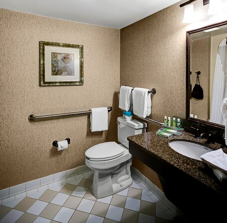 Our hotel has accessible guest rooms and bathrooms