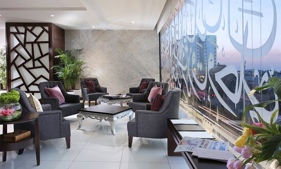 Ascott Tahlia Jeddah Guest Lounge