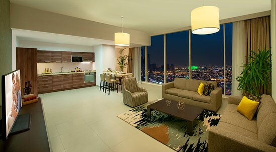 Living Room of 1-Bedroom Premier