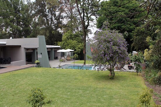 Enjoy our Full English or Continental breakfast, served in our charming dining room, or on the patio overlooking the sparkling pool. - Picture of The Guesthouse 6 On Vrede, Bryanston - Tripadvisor