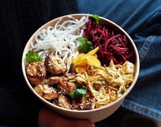 Kimchi Tofu Bowl