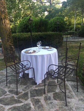 Table en intimité