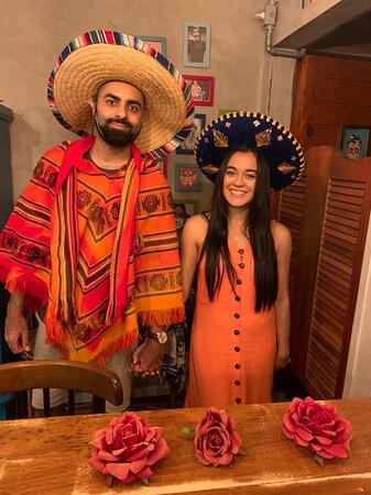 Noite mexicana 🇲🇽🌶