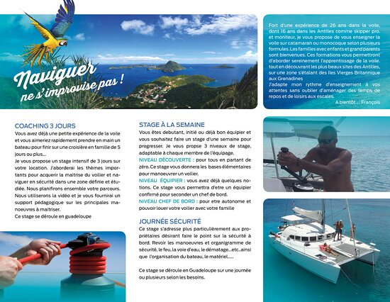 Γουαδελούπη: Formation plaisance aux Antilles