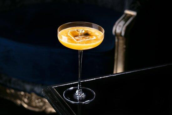 Муви сонг (бурбон, пюре маракуйя, лимонный сок, кленовый сироп)