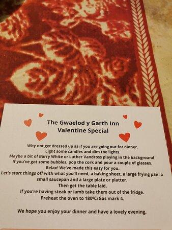 Valentine to go !