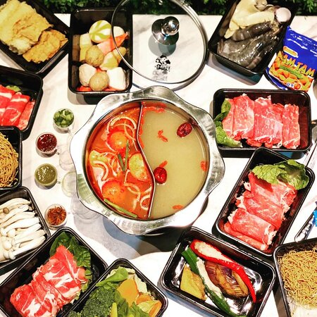 Hot pot authentic Chinese cuisine... visit us and avail of 12% discount until Feb. 28 2021
