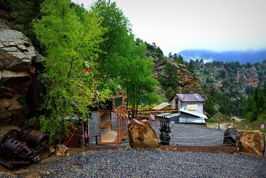 Idaho Springs, CO : beautiful day at the Phoenix Gold Mine