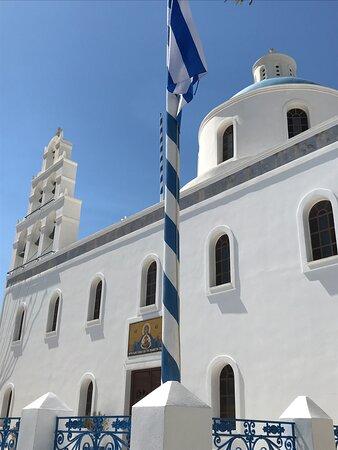 ο Ναός της Παναγίας στην Οία