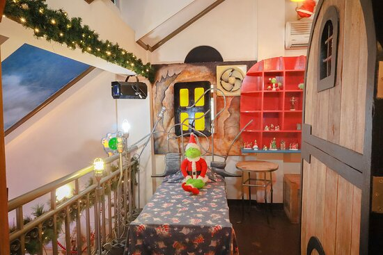 The Grinch Room at the Casa Santa