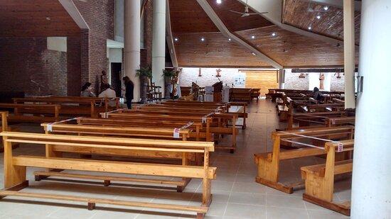 Templo San Bernardo: Localidad San Bernardo del Tuyù, Partido de la Costa, Pcia. Bs.As. - Argentina 2020.
