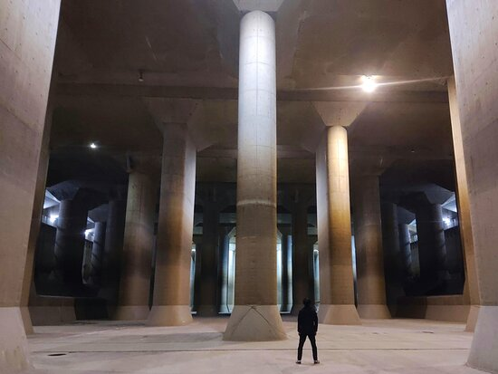 The Metropolitan Outer Area Underground Discharge Channel