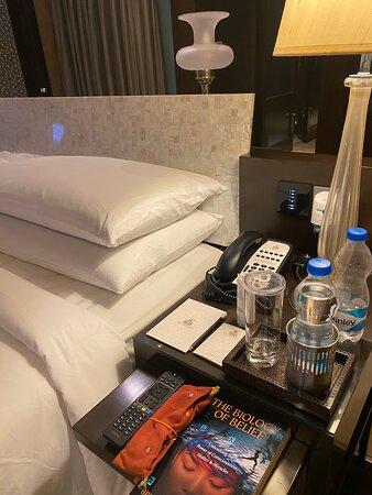 Bed side!