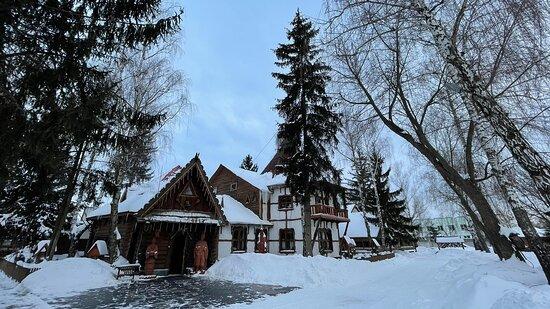 Korosten, Ukraine: Ресторан-музей Колыба