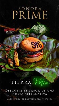 Prueba nuestra nueva Tierra Mia Burger Vegana, una experiencia completamente natural y deliciosa, creada con los mejores ingredientes para ofrecerte todo el sabor de una verdadera burger plant-based.